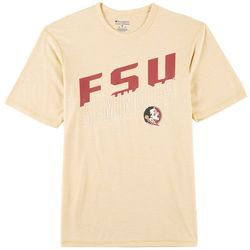 Florida State Mens Logo Heathered T-Shirt by Champion