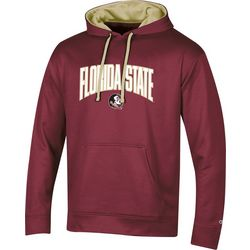 Florida State Mens FSU Arch Logo Hoodie by Champion