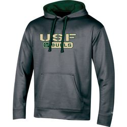 USF Bulls Mens Fleece Logo Hoodie by Champion