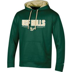 USF Bulls Mens Logo Fleece Hoodie by Champion