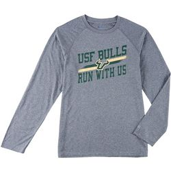 USF Bulls Mens Persistent Long Sleeve T-Shirt by Champion