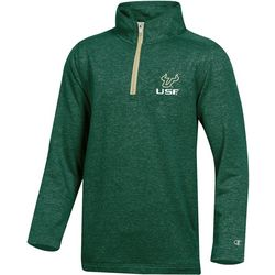USF Bulls Mens Victory Zip Pullover by Champion