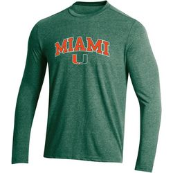 Miami Hurricanes Mens Field Day Logo T-Shirt by Champion