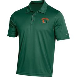 Miami Hurricanes Mens Athletic Polo Shirt by Champion