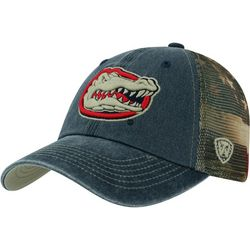 Florida Gators Mens Flag Trucker Hat by Top of the World