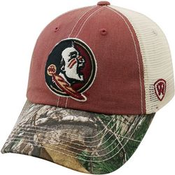 Florida State Mens Camo Mesh Hat by Top of the World