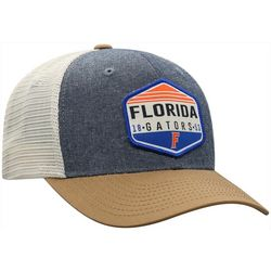 Florida Gators Mens Chambray Trucker Hat by Top