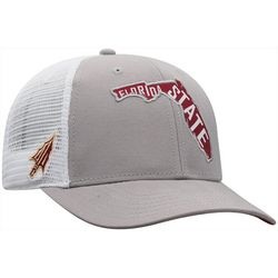 Florida State Mens Trucker Snapback Hat by Top