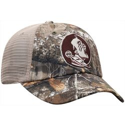 Florida State Mens Camo Snapback Hat by Top of the World
