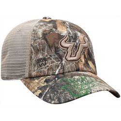 USF Bulls Mens Camo Snapback Hat by Top of the World