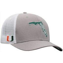 Miami Hurricanes Mens Trucker Hat by Top of the World
