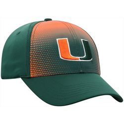 Miami Hurricanes Mens Flat Stitch Hat by Top of the World