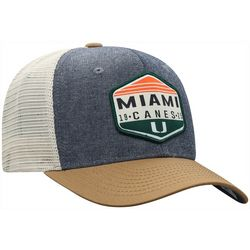 Miami Hurricanes Mens Chambray Hat by Top of the World