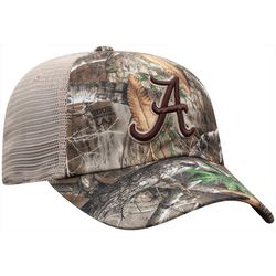 Alabama Mens Camo Snapback Hat by Top of the World