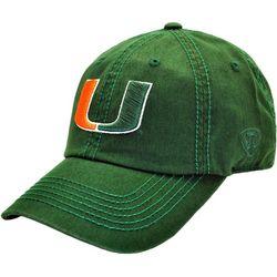 Miami Hurricanes Mens Crew Hat