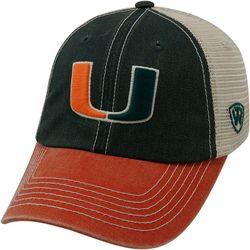 Miami Hurricanes Mens Off Road Hat