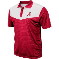 Alabama Mens Bart Polo Shirt by Colosseum