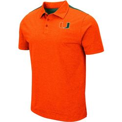 Miami Hurricanes Mens I Will Not Polo Shirt by Colosseum