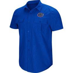 Florida Gators Mens Roberto Woven Shirt by Colosseum