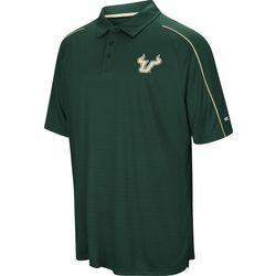 USF Bulls Mens Overtime Polo Shirt by Colosseum
