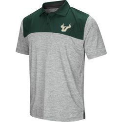 USF Bulls Mens Alaska Polo Shirt by Colosseum