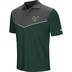 USF Bulls Mens Walter Polo Shirt by Colosseum