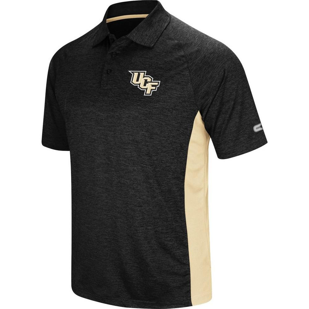 Ucf Knights Mens Wedge Polo Shirt By Colosseum Bealls Florida
