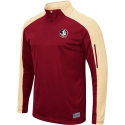 Florida State Mens Colorblocked Duff Windshirt by Colosseum