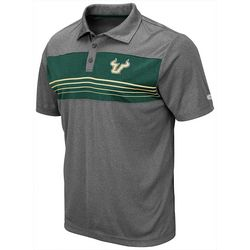 USF Bulls Mens Smithers Polo Shirt by Colosseum