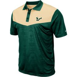 USF Bulls Mens Bart Polo Shirt by Colosseum