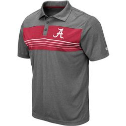Alabama Mens Smithers Polo Shirt by Colosseum