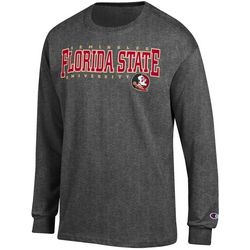 Florida State Mens Arch Long Sleeve T-Shirt by Champion