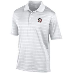 Florida State Mens Stripe Polo Shirt by Champion