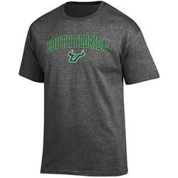 USF Bulls Mens Logo Icon Short Sleeve T-Shirt by Champion