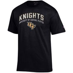 UCF Knights Mens Logo Print T-Shirt by Champion