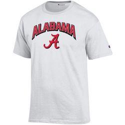 Alabama Mens Logo Icon T-Shirt by Champion