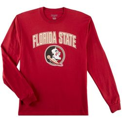 Florida State Mens Arch Logo Long Sleeve T-Shirt by Champion