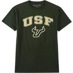 USF Bulls Mens Solid Logo T-Shirt by Victory