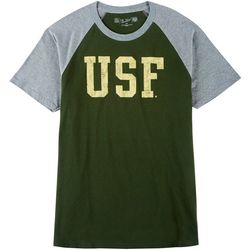 USF Bulls Mens Raglan T-Shirt by Victory