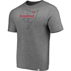 Tampa Bay Buccaneers Mens Static Fade T-Shirt by Majestic