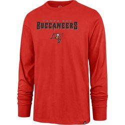 Buccaneers Mens Rival Long Sleeve T-Shirt by 47 Brand