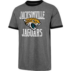 Jaguars Mens Ringer T-Shirt by 47 Brand