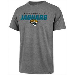 Jaguars Mens Traction T-Shirt by 47 Brand
