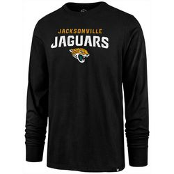 Jaguars Mens Rival Long Sleeve T-Shirt by 47 Brand