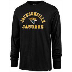 Jaguars Mens Varsity Long Sleeve T-Shirt by 47 Brand