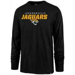Jaguars Mens Traction Long Sleeve T-Shirt by 47