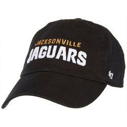 Jaguars Mens Clean Up Hat by 47 Brand