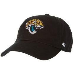 Jaguars Mens Clean Up Logo Hat by 47 Brand