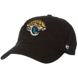 Jaguars Mens Clean Up Logo Hat by 47 Brand 7d1ab3250
