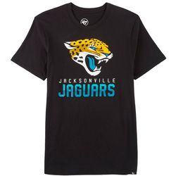 Jaguars Mens Hype Logo T-Shirt by 47 Brand
